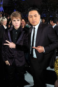 Jon Chu and JB 199x300 Directors fan cut of Justin Bieber movie includes new footage 2011