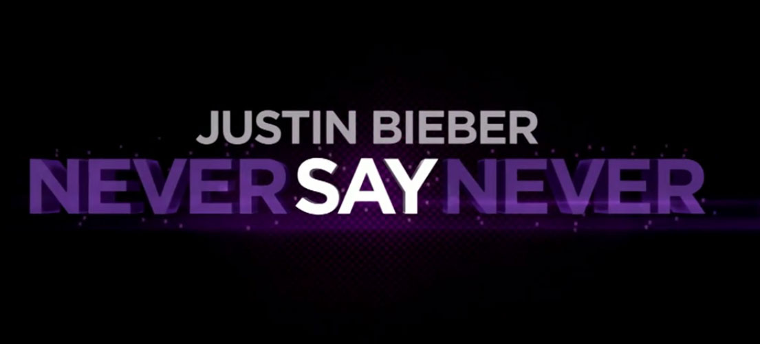 justin bieber never say never movie tickets. Some of us have bought tickets