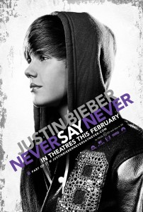 NEVER SAY NEVER 3D 202x300 Watch Justin Biebers Never Say Never premiere here LIVE 2011
