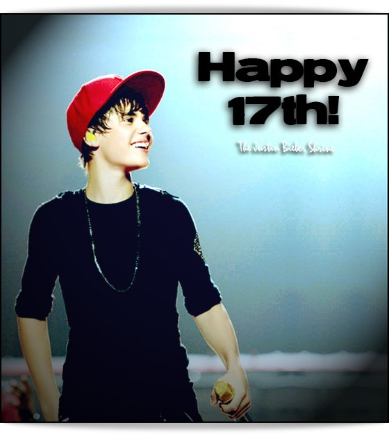 justin bieber birthday 2011 pics. Happy 17th Birthday Justin! lt;3