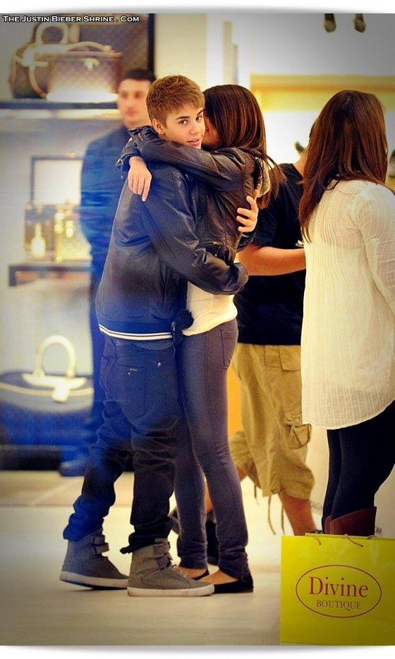 selenagomez justinbieber birthday 2011 01 Justin Bieber spent 17th birthday with Selena Gomez at Beverly Center Mall March 1, 2011 2011