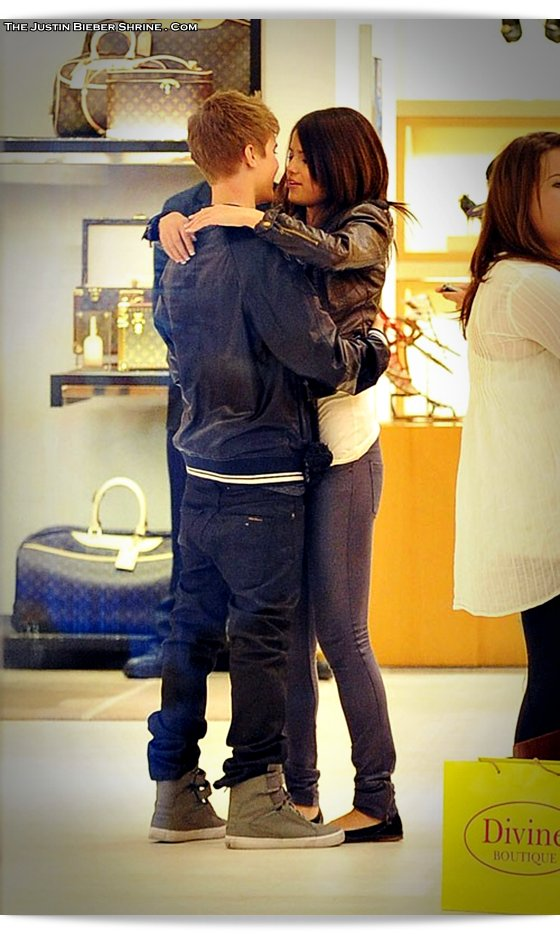 selenagomez justinbieber birthday 2011 02 Justin Bieber spent 17th birthday with Selena Gomez at Beverly Center Mall March 1, 2011 2011