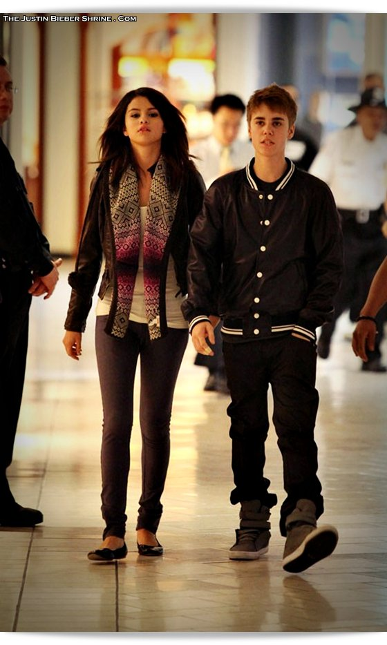 selenagomez justinbieber birthday 2011 07 Justin Bieber spent 17th birthday with Selena Gomez at Beverly Center Mall March 1, 2011 2011