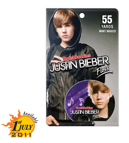 justinbieber floss New Justin Bieber Singing Toothbrush & Floss 2011