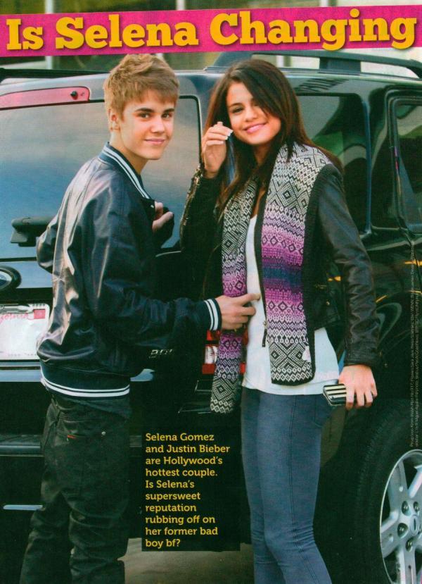 Is Selena Gomez changing Justin Bieber? 2011