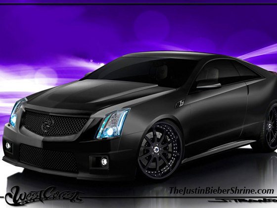justin biebers car cadillac Justin Biebers new car Cadillac is being suped up @ West Coast Customs 2011