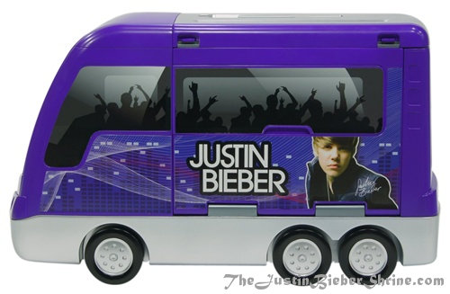 Justin Bieber Tour Bus Concert Stage1 Justin Bieber Rockin Tour Bus and Concert Stage Top Seller 2011