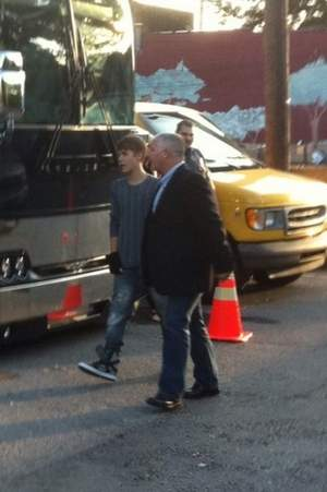 Justin Bieber Christmas music video being filmed in Franklin, TN 2011
