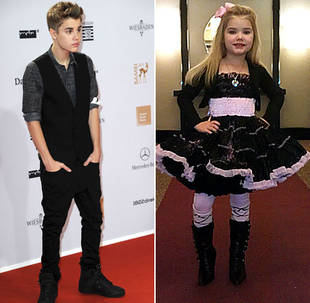 justinbieber edenwood Justin Bieber disses back Eden Wood of Toddlers and Tiaras 2011