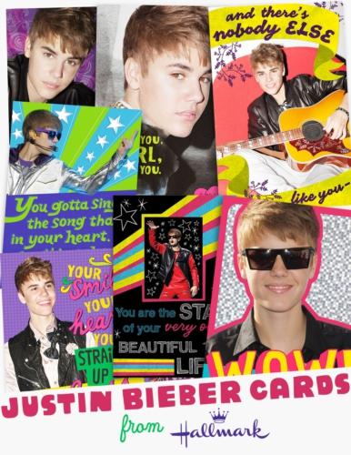 Hallmark To Sell Justin Bieber Birthday Greeting Cards