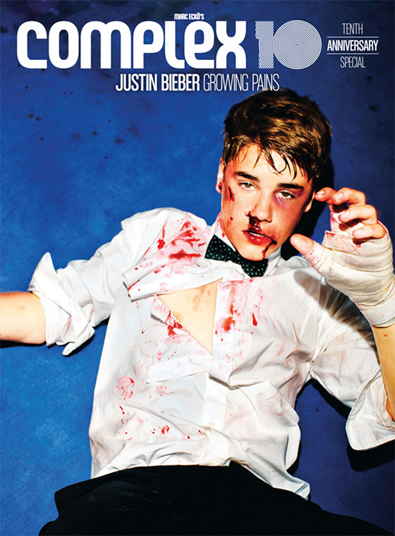 justin bieber complex photoshoot cover 2012