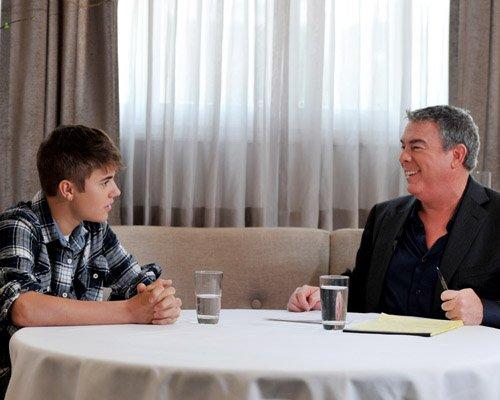 justin bieber elvis duran interview 2012