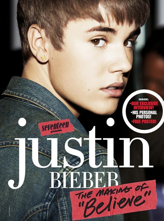 justin bieber seventeen magazine 2012