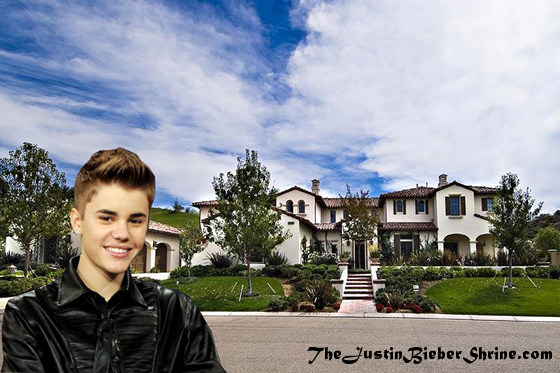 justin bieber's new house mansion calabasas