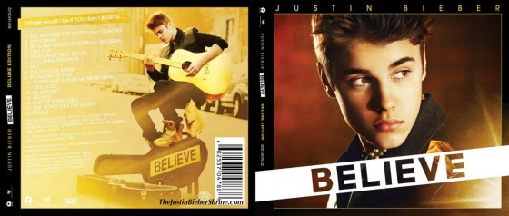 justin bieber believe tracklist songlist 560x238 Justin Bieber Believe Tracklist [Official] 2011