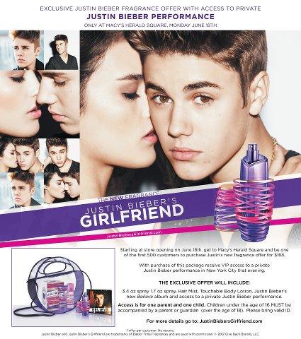 Buy justin bieber perfume girlfriend get free vip tickets m4hsunfo