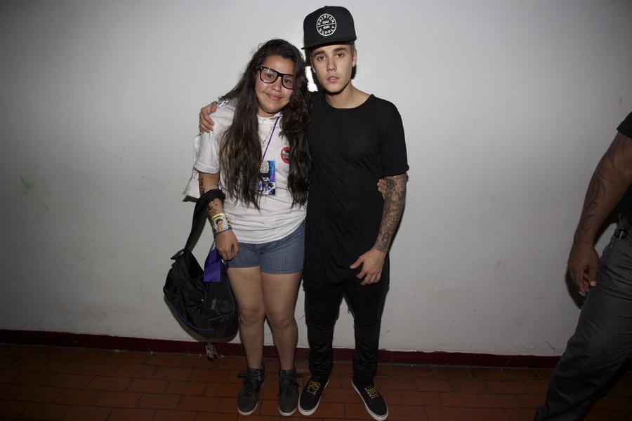 Meet And Greet Pictures Justin Bieber Justin-bieber-argentina-meet