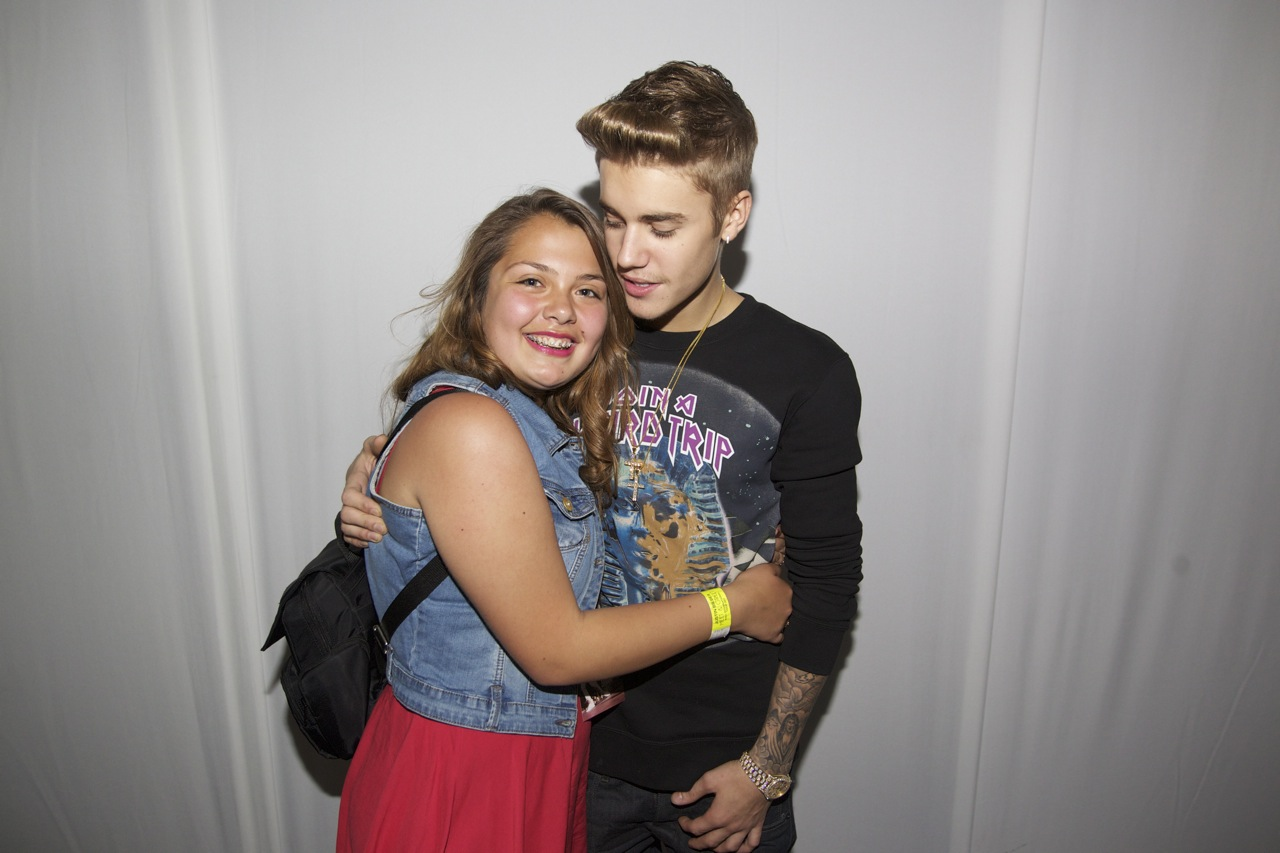 meet and greet justin bieber chile 2013 tx68