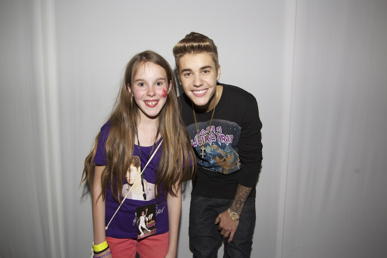 justin bieber free meet and greets