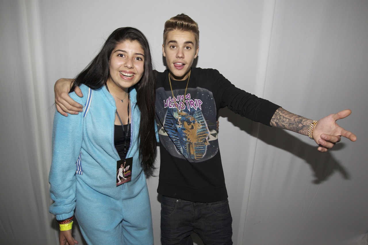justin bieber meet and greet denver 2013
