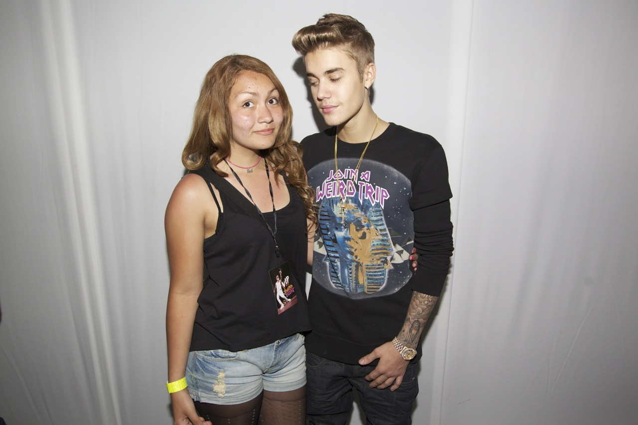 justin bieber meet and greet miami pictures