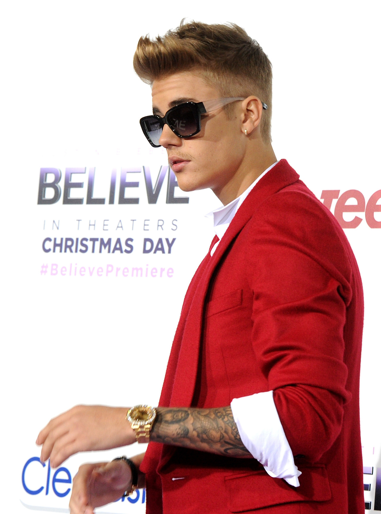 "Premiere Of Open Road Films' ""Justin Bieber's Believe"" - Red Carpet"